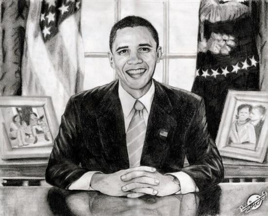 Barack Obama by b_creative